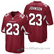 Arizona Cardinals Game Hemma NFL Tröjor Chris Johnson..