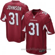 Arizona Cardinals Game Hemma NFL Tröjor David Johnson..