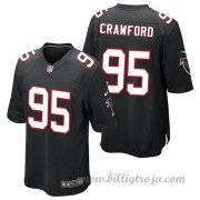 Atlanta Falcons Game Alternate NFL Tröjor Jack Crawford..
