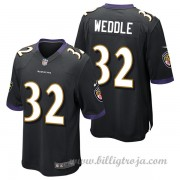 Baltimore Ravens Game Alternate NFL Tröjor Eric Weddle..