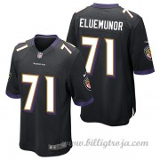 Baltimore Ravens Game Alternate NFL Tröjor Jermaine Eluemunor..