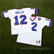 Buffalo Bills Jim Kelly 1990 Authentic NFL Tröjor..
