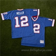 Buffalo Bills Jim Kelly 1990 Kopia NFL Tröjor..