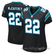 Dam Carolina Panthers Game Hemma NFL Tröjor Christian Mccaffrey..