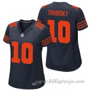 Dam Chicago Bears Game Alternate NFL Tröjor Mitch Trubisky..