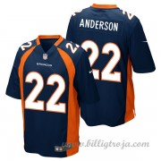Barn Denver Broncos Game Alternate NFL Tröjor C.J. Anderson..