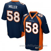 Barn Denver Broncos Game Alternate NFL Tröjor Von Miller..