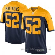 Barn Green Bay Packers Game Alternate NFL Tröjor Clay Matthews..