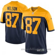 Barn Green Bay Packers Game Alternate NFL Tröjor Jordy Nelson..