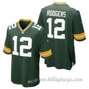 Green Bay Packers Game Hemma NFL Tröjor Aaron Rodgers..