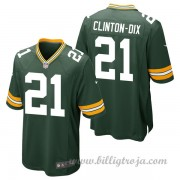 Barn Green Bay Packers Game Hemma NFL Tröjor Ha Ha Clinton-Dix..