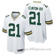Barn Green Bay Packers Game Borta NFL Tröjor Ha Ha Clinton-Dix..