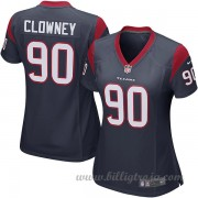 Dam Houston Texans Game Hemma NFL Tröjor Jadeveon Clowney..