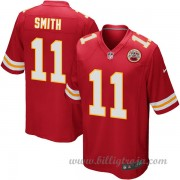 Kansas City Chiefs Game Hemma NFL Tröjor Alex Smith..