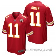 Barn Kansas City Chiefs Game Hemma NFL Tröjor Alex Smith..