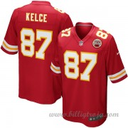 Barn Kansas City Chiefs Game Hemma NFL Tröjor Travis Kelce..