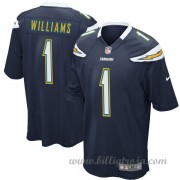 Barn Los Angeles Chargers Game Hemma NFL Tröjor Mike Williams..
