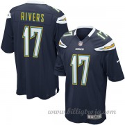 Los Angeles Chargers Game Hemma NFL Tröjor Philip Rivers..