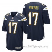 Barn Los Angeles Chargers Game Hemma NFL Tröjor Philip Rivers..