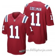Barn New England Patriots Game Alternate NFL Tröjor Julian Edelman..