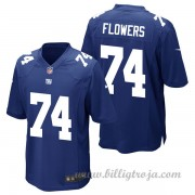 New York Giants Game Hemma NFL Tröjor Ereck Flowers..