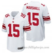 Barn New York Giants Game Borta NFL Tröjor Brandon Marshall..