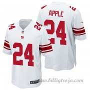 New York Giants Game Borta NFL Tröjor Eli Apple..
