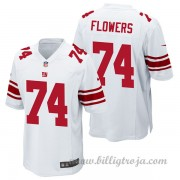 New York Giants Game Borta NFL Tröjor Ereck Flowers..