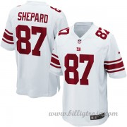 New York Giants Game Borta NFL Tröjor Sterling Shepard..