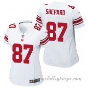 Dam New York Giants Game Borta NFL Tröjor Sterling Shepard..