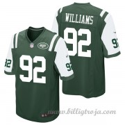 New York Jets Game Hemma NFL Tröjor Leonard Williams..