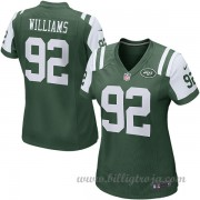 Dam New York Jets Game Hemma NFL Tröjor Leonard Williams..