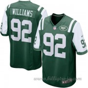 Barn New York Jets Game Hemma NFL Tröjor Leonard Williams..