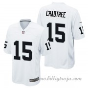 Barn Oakland Raiders Game Borta NFL Tröjor Michael Crabtree..
