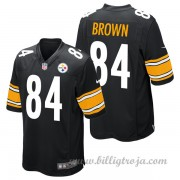 Barn Pittsburgh Steelers Game Hemma NFL Tröjor Antonio Brown..
