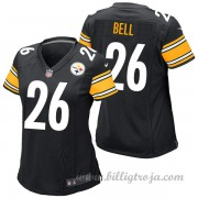 Dam Pittsburgh Steelers Game Hemma NFL Tröjor LeVeon Bell..