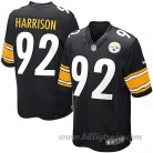 Pittsburgh Steelers Game Hemma NFL Tröjor James Harrison