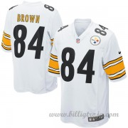Pittsburgh Steelers Game Borta NFL Tröjor Antonio Brown..