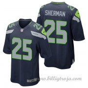 Seattle Seahawks Game Hemma NFL Tröjor Richard Sherman..