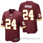 Washington Redskins Game Hemma NFL Tröjor Josh Norman..