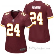 Dam Washington Redskins Game Hemma NFL Tröjor Josh Norman..